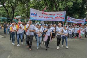 Biti's đồng hành cùng chương trình thiện nguyện đi bộ vì nạn nhân chất độc da cam, Người khuyết tật nghèo năm 2019