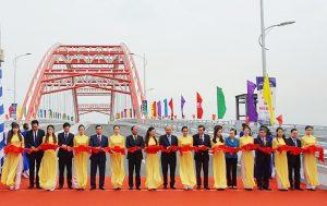 Hải Phòng: Chính thức thông xe kỹ thuật công trình cầu Hoàng Văn Thụ
