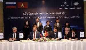BIDV và NAPAS công bố triển khai dịch vụ kết nối với tổ chức thẻ nội địa Liên bang Nga NSPK