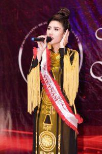 Nhờ bolero Dương Yến Nhung đạt giải ở hoa hậu quốc tế